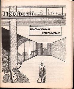 science fiction fanzine: TIGHTBEAM #147; in Near Mint cond