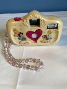 Vintage Disney Princess 35mm Film Camera With Flash Beaded Handle