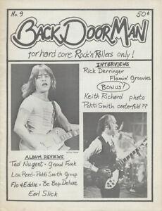 Back Door Man issue 09 - November 1976 [USA] - Magazine