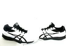 JL-789 ASICS Men's Gel-Upcourt 3 Volleyball Shoes  White/Black, SZ 9.5