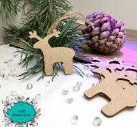 Wooden, Christmas Reindeer Shape, Reindeer, Christmas Decoration,Nordic Reindeer