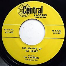 THE CHARMERS doowop REISSUE vg++ 45 Beating Of My Heart ~Why Does It Have mg1392