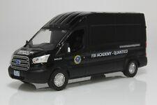 2015 Ford Transit FBI Van, Academy Quantico 1:64 Scale Diecast Model Black