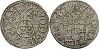 Schauenburg Ernst III., 1601-1622 1/24 Taler 1606 #Y20