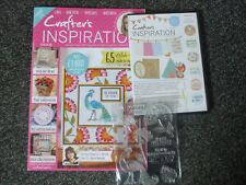 Crafter's Inspiration issue 18, cd and one free gift.