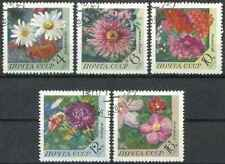 Timbres Flore URSS 3665/9 o lot 28728