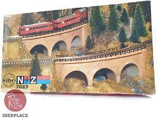 Z + N 1:160 escala modelismo trenes Maqueta Kibri 7642 puente curvo <
