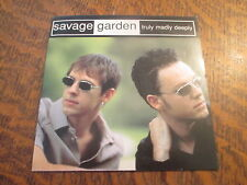 cd SAVAGE GARDEN truly madly deeply