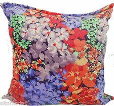"""MISSONI HOME CUSHION COVER FLOOR OUTDOOR 100% COTTON 80x80 32x32"""" LUDOVICA 156"""