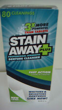 Stain-Away Plus Denture Cleanser - 8.1 oz