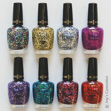 "8 MILANI Specialty Nail Lacquer Jewel FX polish ""Full Set"" Joy's cosmetics"