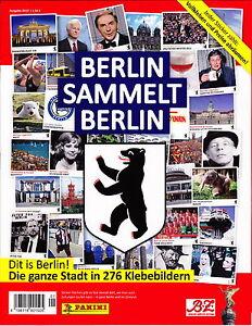Panini Berlin sammelt Berlin  - Sammelalbum + 200 verschiedene Sticker