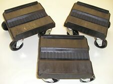Heavy Duty Snowmobile Casters shop caddies dolly dollies Genuine Yamaha Black