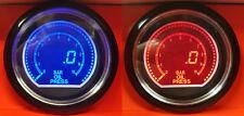 60mm EVO Car Oil Pressure Gauge Red and Blue LCD Digital Display