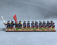 Details about  /15mm Seven Years War WGS Painted Hanoverian Post Infantry Grenadier HA8