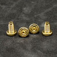 For KIMBER 1911 Grip Screws Fits All 1911 Grips Models Gold plated 4 pcs