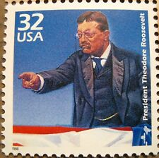 Theodore Teddy Roosevelt Scarce Mint MNH US Postage Stamp Scott 3181B