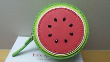 KATE SPADE New York Watermelon With Seeds Make A Splash Coin Purse Sold Out NWT