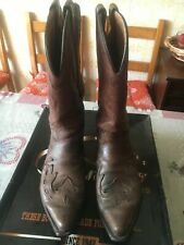 Stivali texani Biker Western Cowboy 43.