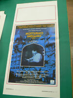 LOCANDINA manifesto NOTTURNO INDIANO drammatico regia Alain Corneau 1989