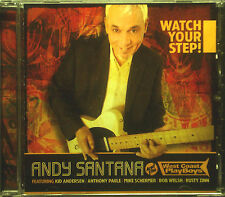 CD ANDY SANTANA - watch your step