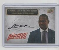Daredevil Seasons 1 & 2 Autograph Trading Card #SS-BT Stephen Rider