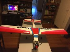 ARF Gas Balsa RC Airplane with OS MAX .40 engine Supertigre Great Planes Trainer