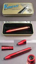 Kaweco CARBONIO Sport penna a sfera in alluminio colore rosso #