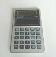 Rare! Canon LS-51 Solar Card Calculator 8 digits