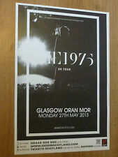 The 1975 - Glasgow may 2013 tour concert gig poster