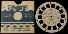View-Master # 32 GRAND CANYON NATIONAL PARK RIVER TRAIL 1948