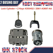 Ignition Switch & Barrel Cyclinder Lock Cylinder Key For Ford Transit MK7 06-ON