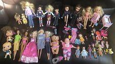 Mattel HUGE LOT 90s DOLLS Krissy Barbie Baby Disney RARE Bratz Babyz Corolle MGA