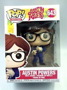 Figurine Funko Pop Vinyl Figure Movies Austin Powers - N° 643