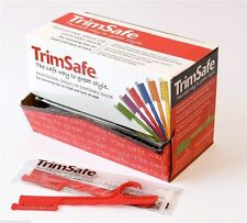 TrimSafe Professional Hairdressing 48 Disposable Razors for Trimming Head & Neck