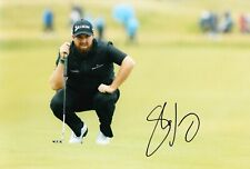 More details for shane lowry signed 12x8 photo open championship royal portrush aftal coa (b)