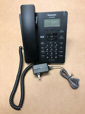 Panasonic KX-HDV130 With Adapter 2 Line SIP IP Phone HD Voice LCD PoE Ready