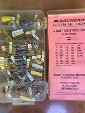 Lot of electronic parts - new, old stock - resistors, sockets & much more
