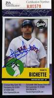 Dante Bichette Jsa Coa Autographed 2001 Upper Deck Authentic Hand Signed