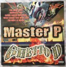 MASTER P : Ghetto D Double Black Vinyl (LP 2017) Coolio Ice Cream Man