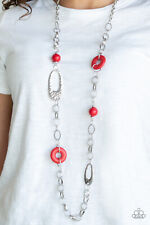 Artisan Artifact Red Necklace By: Paparazzi