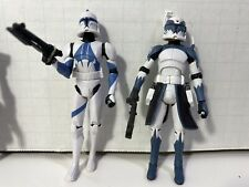 star wars clone wars commander Wolffe and wolf pack trooper