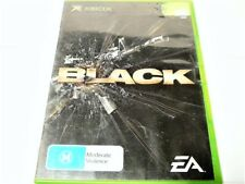 "BLACK ""THE GAME"" ORIGINAL XBOX R4 PAL ""VGC""  AUZ SELLER"
