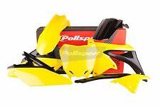 Suzuki Plásticos Kit H. 250 2010 - 2018 OEM 14-16 Amarillo Mx Motocross - 90626
