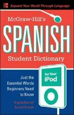 McGraw-Hill's Spanish Student Dictionary for your iPod MP3 Disc + Guide Ty: S
