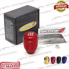 5 SPEED MANUAL SHIFT GEAR KNOB RED M10x1.5 SKUNK2 RACING 1 Year Warranty