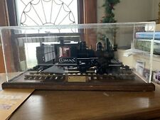 WELL BUILT DISPLAY CASE FOR G SCALE TRAIN