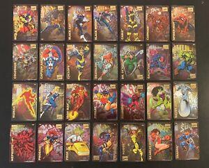 1996 Marvel Comics Super Heroes Refrigerator Magnets Cards Singles You Choose