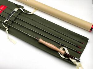 "Lightly Used 4wt Leland Fly Rod New Zealand Dry Fly Rod 8' 6"" 4 weight 4 piece"
