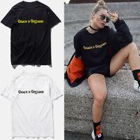 Gosha Rubchinskiy Vetements T-shirt Tee Camo MEN Women's Short SLeeve Fashion